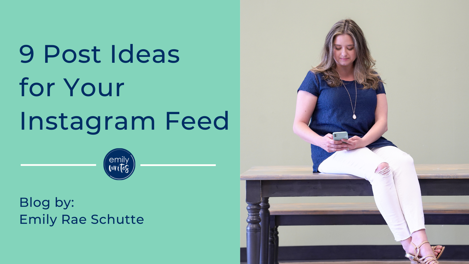 9 post ideas for your instagram feed