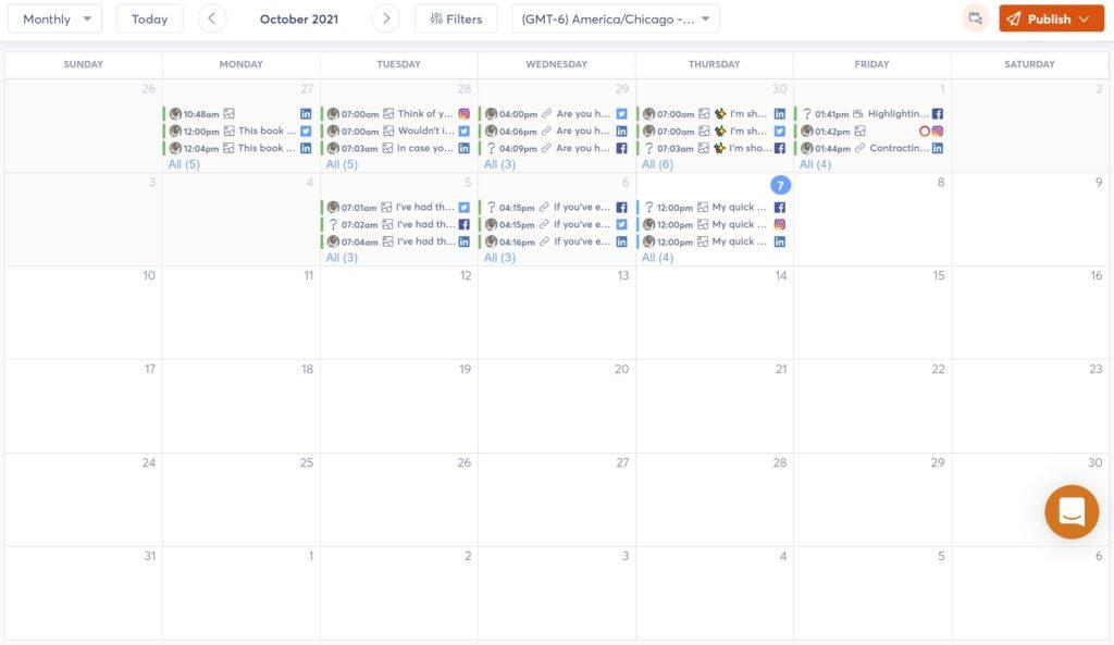 agorapost calendar